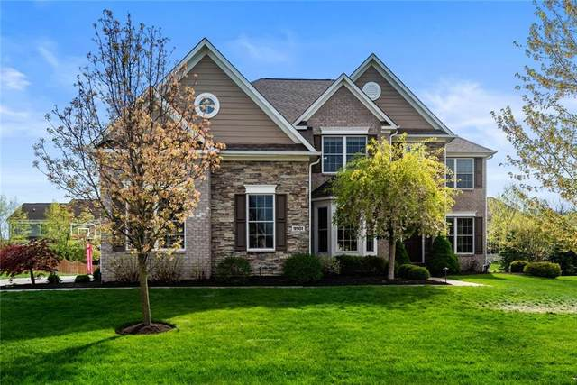 9901 Wild Turkey Row, Fishers, IN 46055 (MLS #21781596) :: Anthony Robinson & AMR Real Estate Group LLC