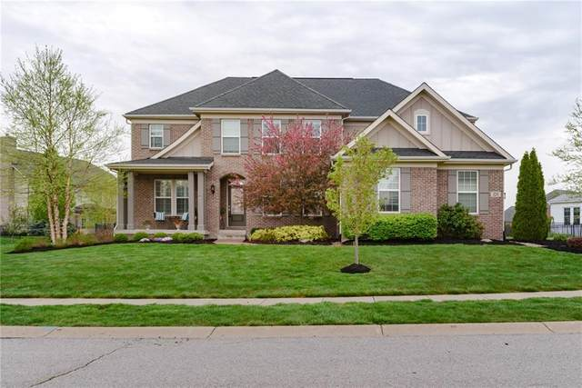 3231 Wildlife Trail, Zionsville, IN 46077 (MLS #21781648) :: Mike Price Realty Team - RE/MAX Centerstone