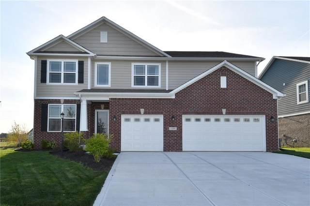 7395 Doyal Drive, Whitestown, IN 46075 (MLS #21781781) :: The ORR Home Selling Team