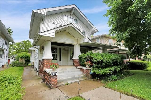615 N Dequincy Street #0, Indianapolis, IN 46201 (MLS #21781851) :: Keller & Corbett Real Estate