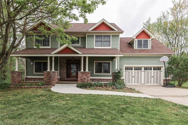 4858 Persimmon Tree Lane, Martinsville, IN 46151 (MLS #21781877) :: The Evelo Team