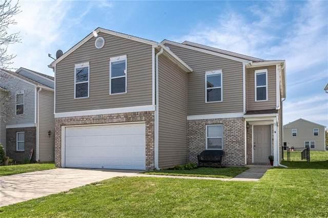 724 Wheatgrass Drive, Greenwood, IN 46143 (MLS #21781919) :: Richwine Elite Group