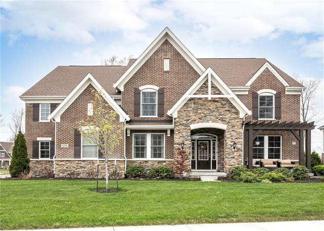 12374 Clover Hill Trace, Fishers, IN 46037 (MLS #21781953) :: Anthony Robinson & AMR Real Estate Group LLC