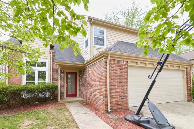 7811 Wind Run Circle, Indianapolis, IN 46256 (MLS #21782001) :: The Evelo Team