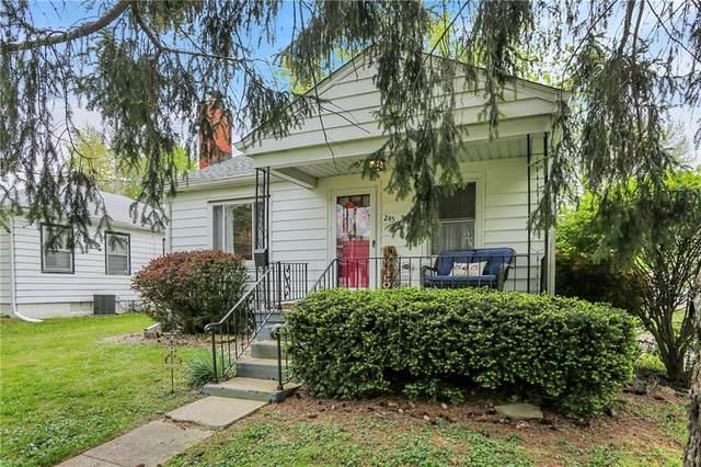 245 N Smart Street, Greenwood, IN 46142 (MLS #21782012) :: Richwine Elite Group