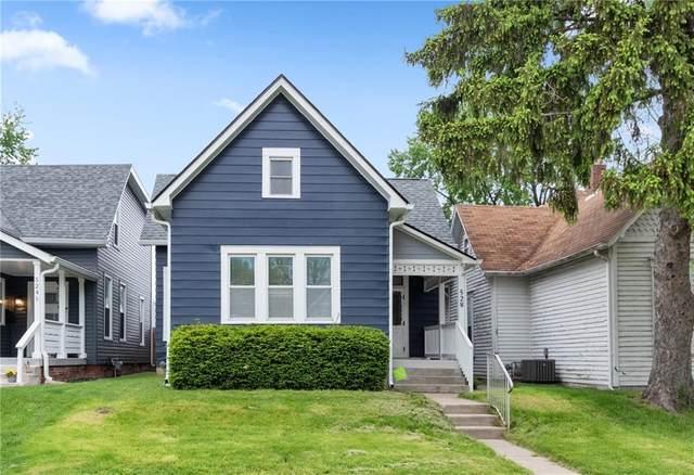 528 Weghorst Street, Indianapolis, IN 46203 (MLS #21782215) :: Ferris Property Group