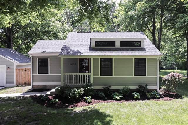 2027 E 80th Street, Indianapolis, IN 46240 (MLS #21782235) :: RE/MAX Legacy