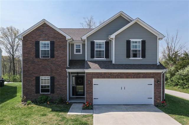 6201 Enclave Boulevard, Greenwood, IN 46143 (MLS #21782247) :: The Evelo Team