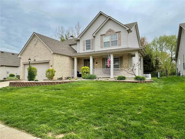 3416 Winchester Drive, Greenwood, IN 46143 (MLS #21782286) :: Richwine Elite Group