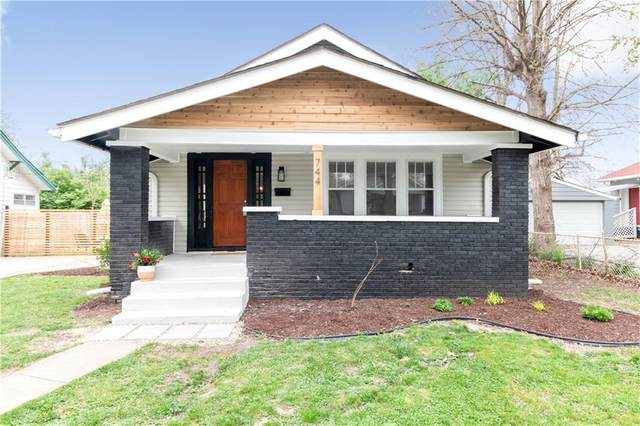 744 Wallace Avenue, Indianapolis, IN 46201 (MLS #21782304) :: Anthony Robinson & AMR Real Estate Group LLC