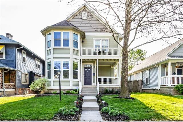 2241 N New Jersey Street, Indianapolis, IN 46205 (MLS #21782329) :: The Evelo Team