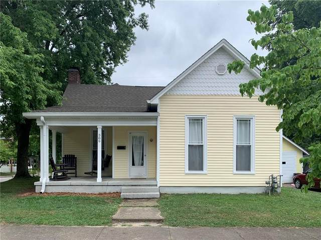 389 E Harrison Street, Martinsville, IN 46151 (MLS #21782380) :: The Indy Property Source