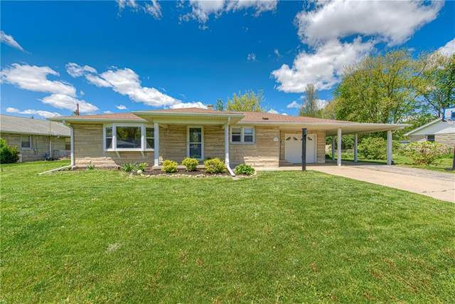1336 E Buchanan Street, Plainfield, IN 46168 (MLS #21782449) :: Heard Real Estate Team | eXp Realty, LLC