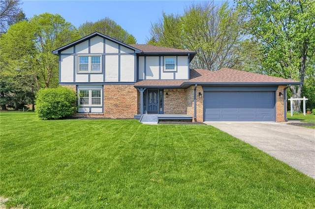 756 Nonchalant Court, Greenwood, IN 46142 (MLS #21782450) :: The ORR Home Selling Team