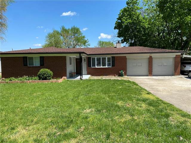 3709 Brill Road, Indianapolis, IN 46227 (MLS #21782470) :: The Evelo Team