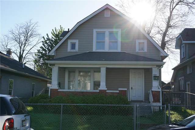 544 N Parker Avenue, Indianapolis, IN 46201 (MLS #21782576) :: RE/MAX Legacy