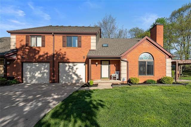 2268 Golden Oaks N, Indianapolis, IN 46260 (MLS #21782692) :: RE/MAX Legacy