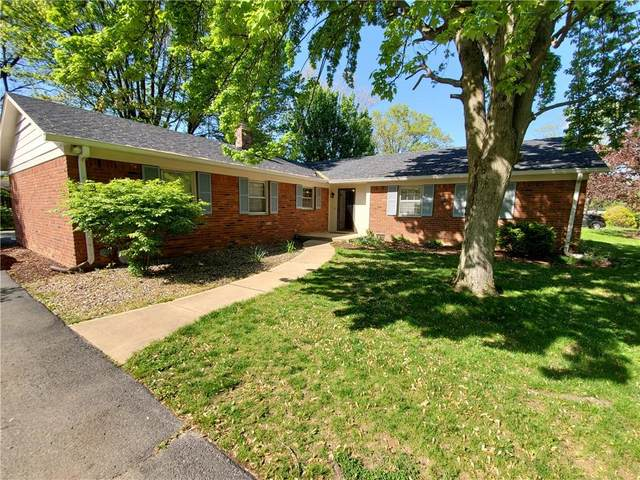 6930 Castle Manor Drive, Indianapolis, IN 46214 (MLS #21782714) :: The Evelo Team
