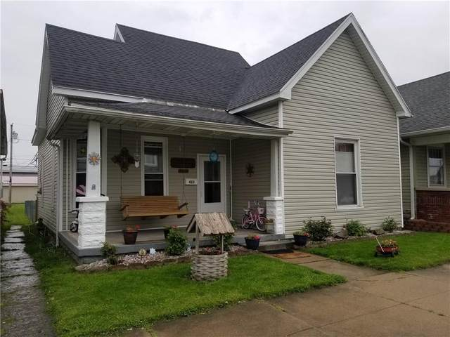 423 W Main Street, Greensburg, IN 47240 (MLS #21782720) :: The ORR Home Selling Team