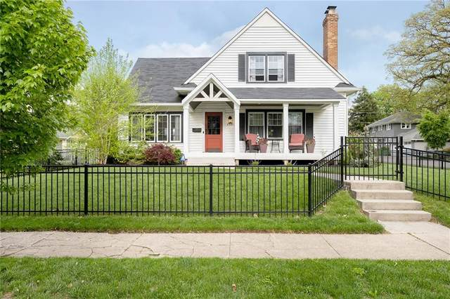 5301 N New Jersey Street, Indianapolis, IN 46220 (MLS #21782791) :: The Evelo Team