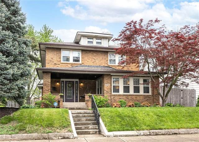 3867 Central Avenue, Indianapolis, IN 46205 (MLS #21782805) :: AR/haus Group Realty