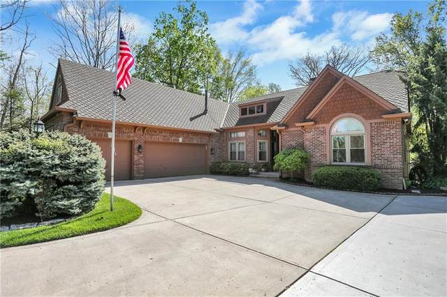 8635 Shoe Overlook Drive, Fishers, IN 46038 (MLS #21782841) :: AR/haus Group Realty