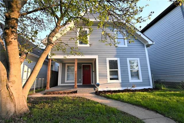 1409 E Terrace Avenue, Indianapolis, IN 46203 (MLS #21782928) :: Mike Price Realty Team - RE/MAX Centerstone