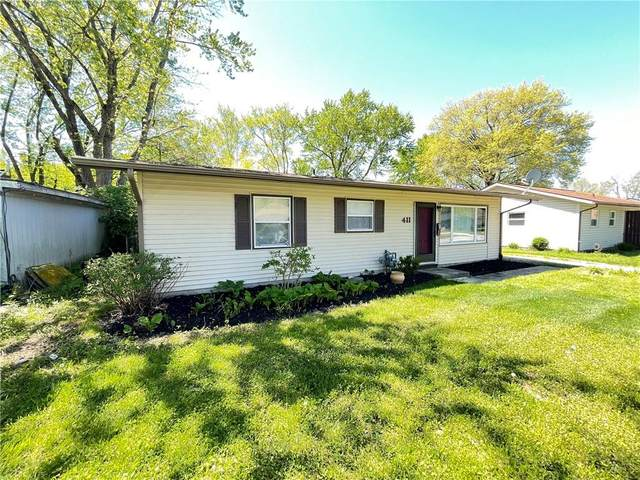 411 W William Drive, Brownsburg, IN 46112 (MLS #21782929) :: Heard Real Estate Team | eXp Realty, LLC
