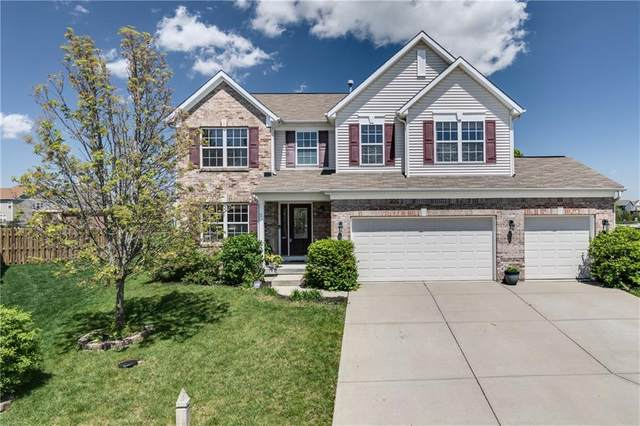 7801 Parkdale Drive, Zionsville, IN 46077 (MLS #21782959) :: RE/MAX Legacy