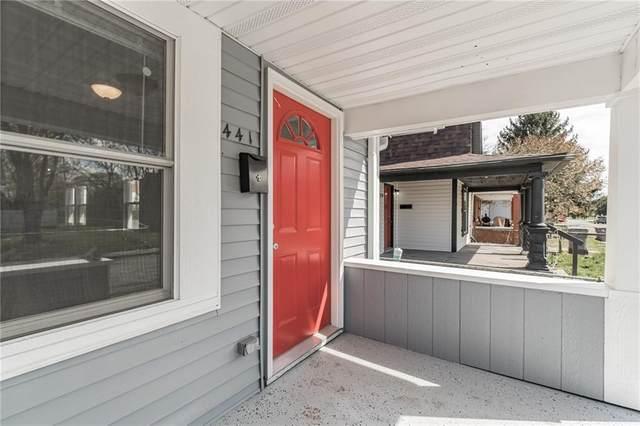 441-443 N Arnolda Avenue, Indianapolis, IN 46222 (MLS #21782967) :: Heard Real Estate Team | eXp Realty, LLC