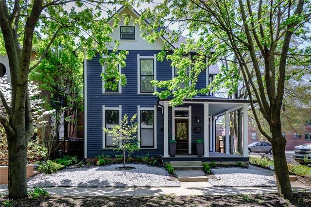 219 E 11th Street, Indianapolis, IN 46202 (MLS #21782997) :: Anthony Robinson & AMR Real Estate Group LLC