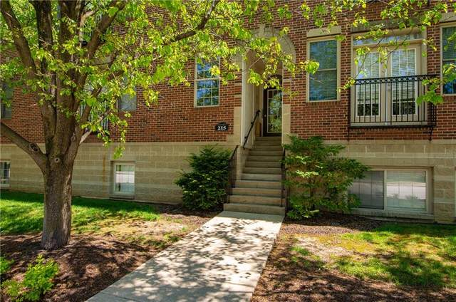 215 N New Jersey Street A, Indianapolis, IN 46204 (MLS #21783004) :: Keller & Corbett Real Estate