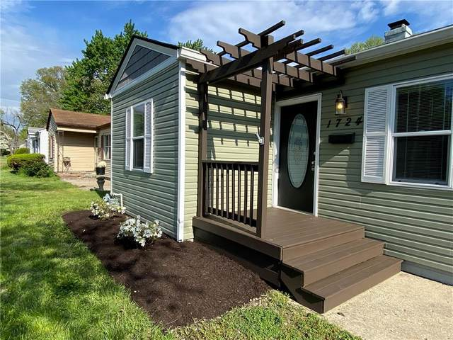1724 E 52nd Street, Indianapolis, IN 46205 (MLS #21783072) :: Richwine Elite Group