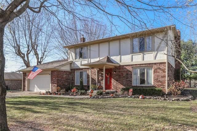 336 N Windsong Lane, Greenwood, IN 46142 (MLS #21783325) :: The ORR Home Selling Team