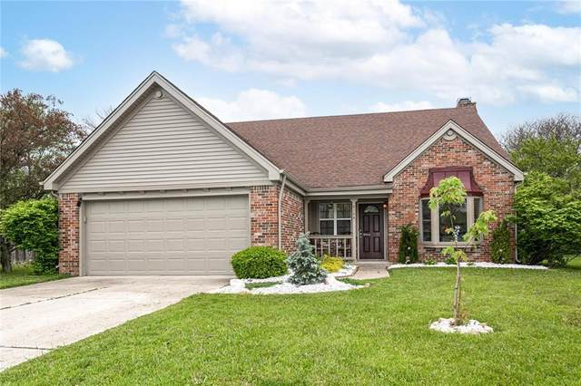 8144 Pocket Hollow Court, Indianapolis, IN 46256 (MLS #21783326) :: The Evelo Team