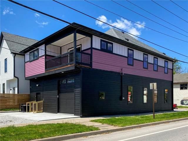 1651 Fletcher Avenue, Indianapolis, IN 46203 (MLS #21783351) :: Heard Real Estate Team   eXp Realty, LLC