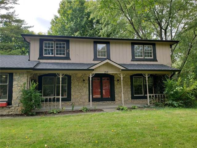 210 Village Dr E, Carmel, IN 46032 (MLS #21783444) :: Heard Real Estate Team | eXp Realty, LLC