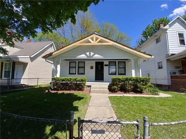 415 N Euclid Avenue, Indianapolis, IN 46201 (MLS #21783448) :: Mike Price Realty Team - RE/MAX Centerstone