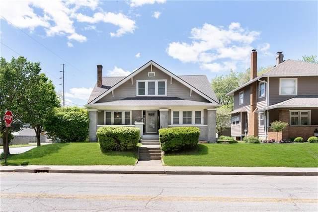 4202 N Capitol Avenue, Indianapolis, IN 46208 (MLS #21783455) :: Keller & Corbett Real Estate
