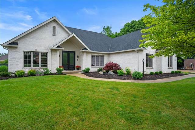 1516 Mansfield Court, Greenwood, IN 46143 (MLS #21783477) :: Mike Price Realty Team - RE/MAX Centerstone