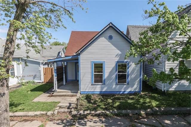 30 Kansas Street, Indianapolis, IN 46225 (MLS #21783585) :: Heard Real Estate Team | eXp Realty, LLC