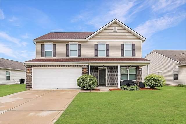 3836 Indigo Blue Boulevard, Whitestown, IN 46075 (MLS #21783590) :: Anthony Robinson & AMR Real Estate Group LLC