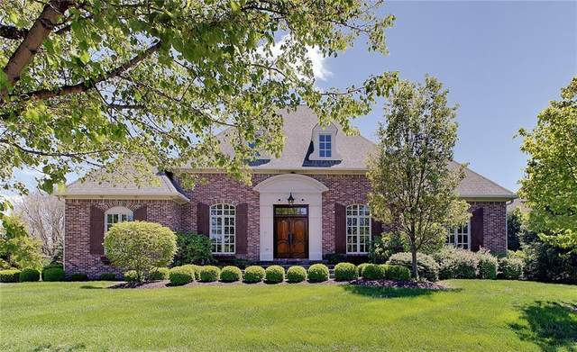 11345 Talnuck Circle, Fishers, IN 46037 (MLS #21783593) :: The Indy Property Source