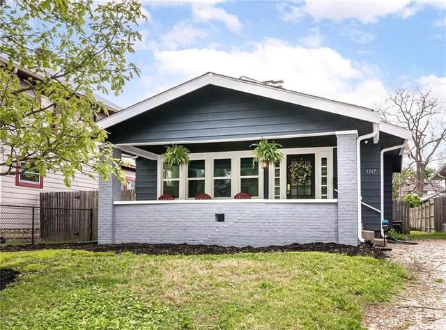 1317 N Parker Avenue, Indianapolis, IN 46201 (MLS #21783668) :: Keller & Corbett Real Estate