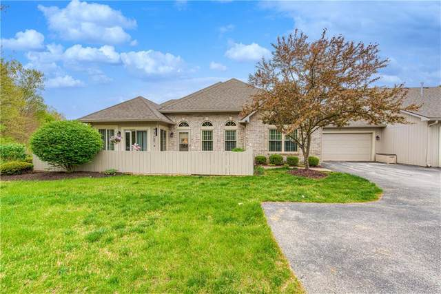 4841 Bridgefield Drive, Indianapolis, IN 46254 (MLS #21783677) :: Mike Price Realty Team - RE/MAX Centerstone