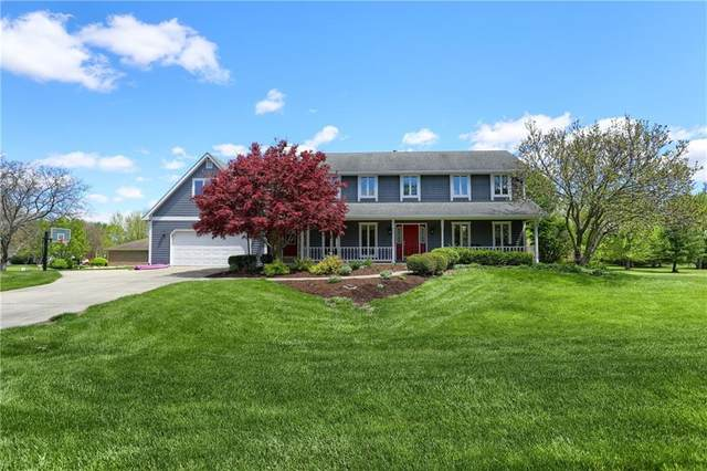 855 E Ridge Drive, Greenfield, IN 46140 (MLS #21783698) :: Anthony Robinson & AMR Real Estate Group LLC