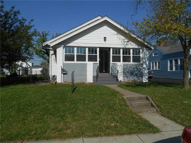 2468 S Delaware Street, Indianapolis, IN 46225 (MLS #21783844) :: RE/MAX Legacy