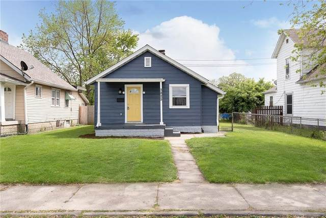 3825 E 11th Street, Indianapolis, IN 46201 (MLS #21784022) :: AR/haus Group Realty