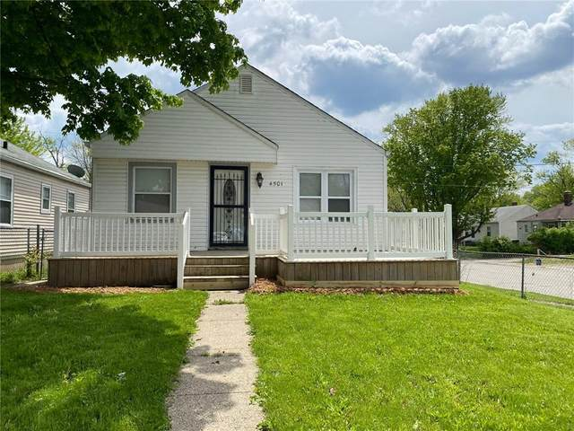 4501 E 21ST Street, Indianapolis, IN 46218 (MLS #21784038) :: Ferris Property Group