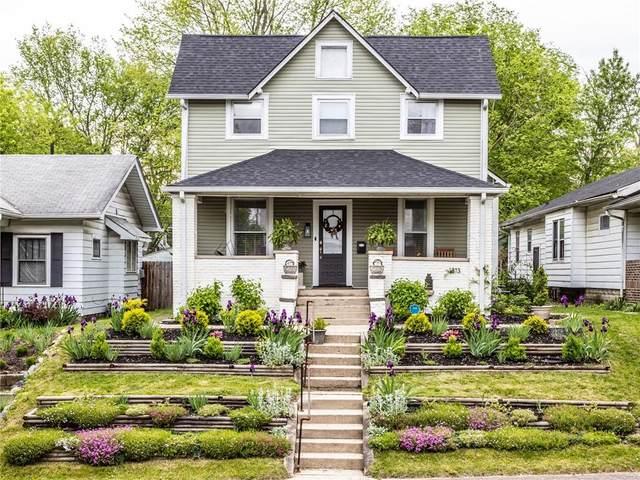 1313 N Oxford Street, Indianapolis, IN 46201 (MLS #21784054) :: Keller & Corbett Real Estate